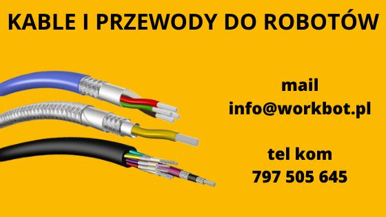kable i przewody do robotów